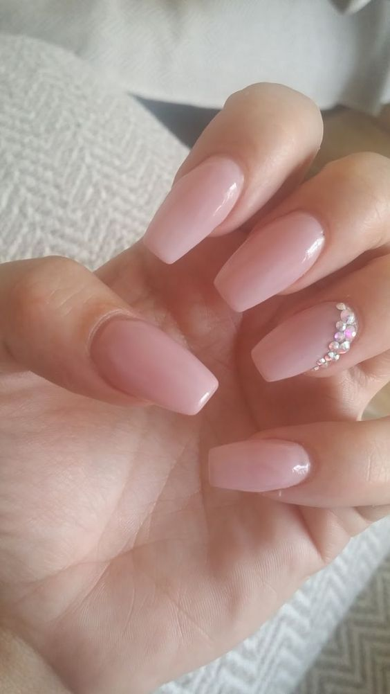 2fea9ee63b044e92ed4107a77c63df97 50+ Coolest Wedding Nail Design Ideas