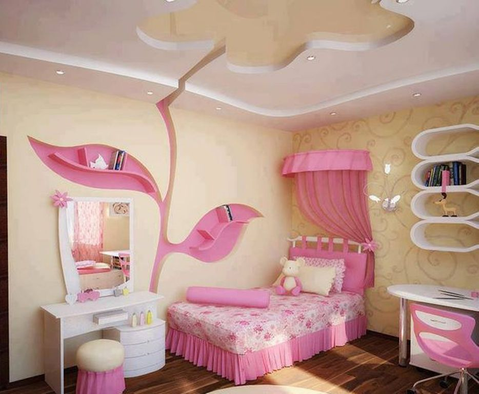 35-Magnificent-Dazzling-Ceiling-Design-Ideas-for-Kids-2015-18 +25 Marvelous Kids' Rooms Ceiling Designs Ideas