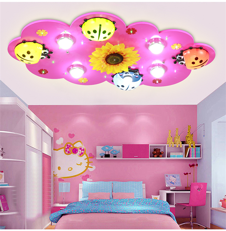 Children-s-font-b-room-b-font-lights-boys-and-girls-LED-ceiling-light-creative-cartoon +25 Marvelous Kids' Rooms Ceiling Designs Ideas