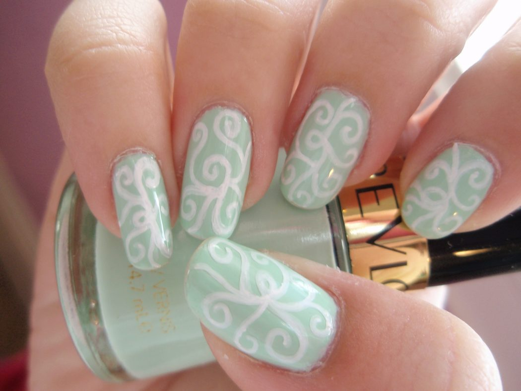 Coolest-Nail-Art-6 50+ Coolest Wedding Nail Design Ideas
