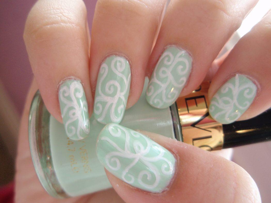 Coolest-Nail-Art-6 50+ Coolest Wedding Nail Design Ideas