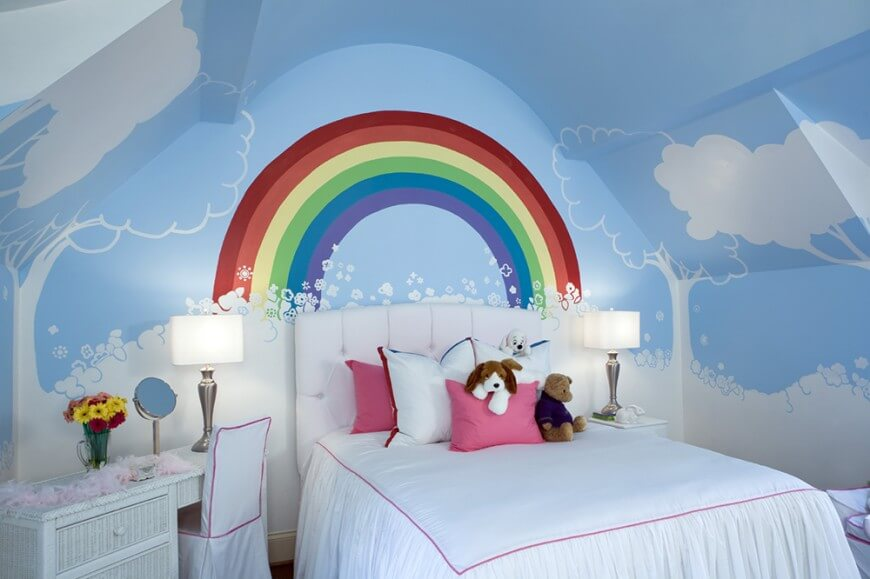MoreKidsBedrooms12-870x579 +25 Marvelous Kids' Rooms Ceiling Designs Ideas