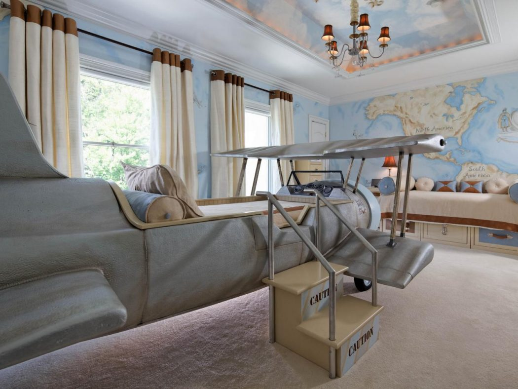 RS_dahlia-mahmood-blue-eclectic-kid-room-ceiling_4x3.jpg.rend_.hgtvcom.1280.960 +25 Marvelous Kids' Rooms Ceiling Designs Ideas