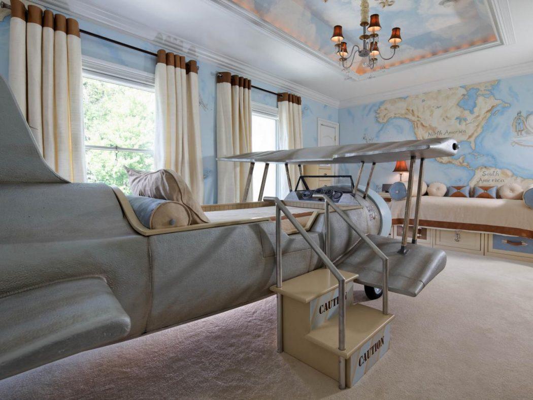 RS_dahlia-mahmood-blue-eclectic-kid-room-ceiling_4x3.jpg.rend_.hgtvcom.1280.960 +25 Marvelous Kids' Rooms Ceiling Designs Ideas