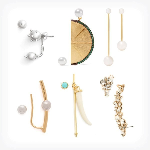 asymmetrical-earrings-2 23 Most Breathtaking Jewelry Trends in 2017