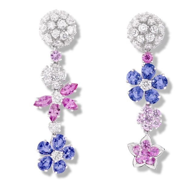 asymmetrical-earrings-that-do-not-match-each-other-in-shape-color-size-or-arrangement 23+ Most Breathtaking Jewelry Trends in 2020