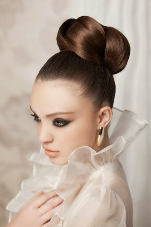 ballerina-buns-8 20+ Hottest Haircuts & Hairstyles for Women in 2018