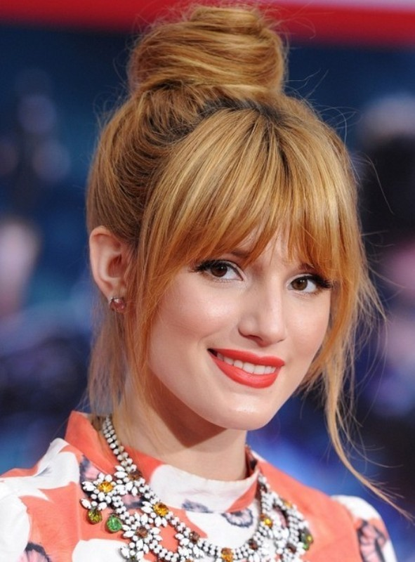 bangs-4 20+ Hottest Haircuts & Hairstyles for Women in 2020