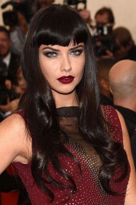 black-hair-2 31 Marvelous Hair Color Trends for Women in 2017