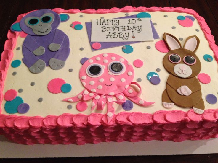 f32012ec8ecd5bb8a3e7c4b657f3baa2 4 Most Creative Beanie Boo Birthday Party Ideas