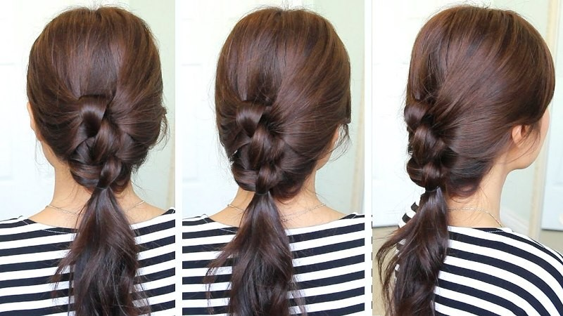 knotted-hairstyle-10 20+ Hottest Haircuts & Hairstyles for Women in 2018
