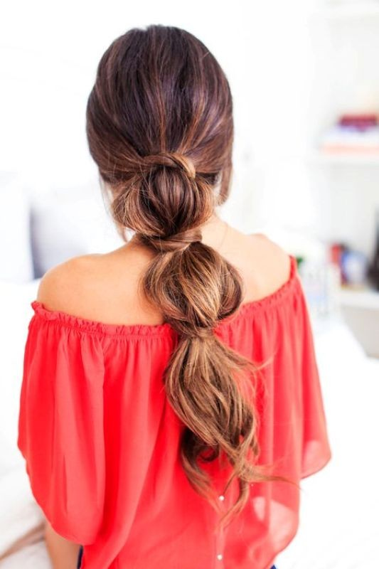 knotted-hairstyle-3 20+ Hottest Haircuts & Hairstyles for Women in 2020
