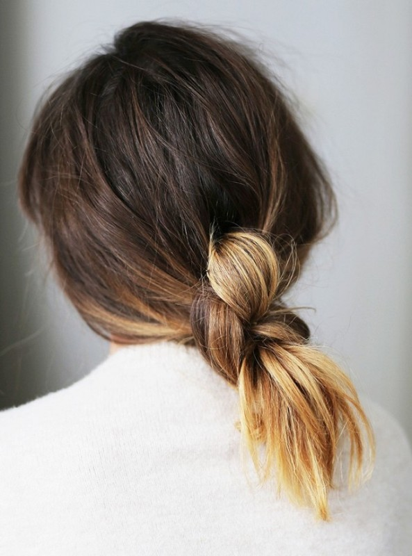knotted-hairstyle-4 20+ Hottest Haircuts & Hairstyles for Women in 2020