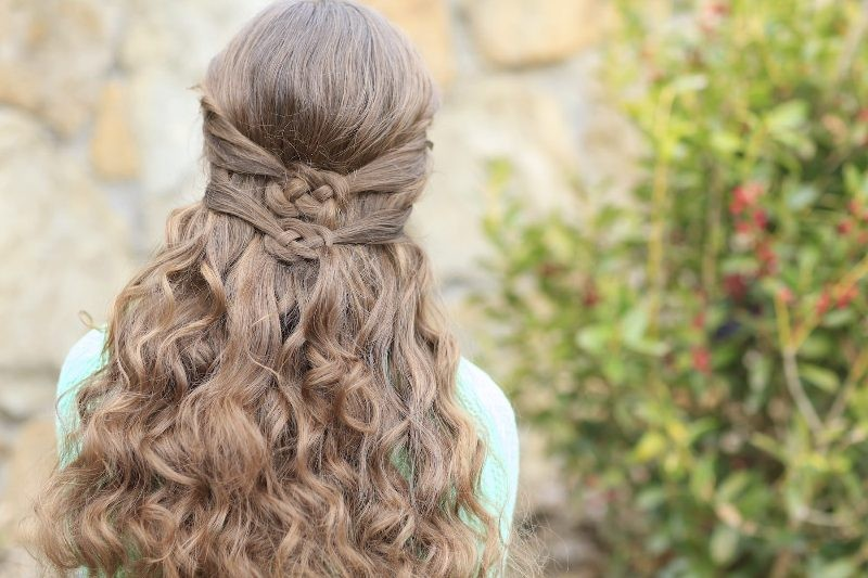 knotted-hairstyle-8 20+ Hottest Haircuts & Hairstyles for Women in 2020