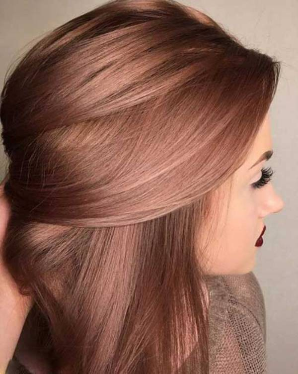 lighter-shades-of-brown-6 31+ Marvelous Hair Color Trends for Women in 2020