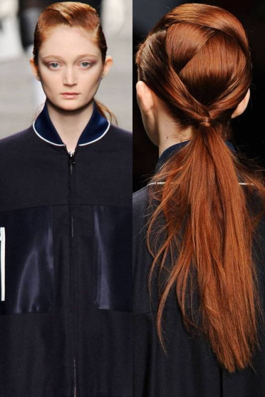 low-ponytail-1 20+ Hottest Haircuts & Hairstyles for Women in 2020