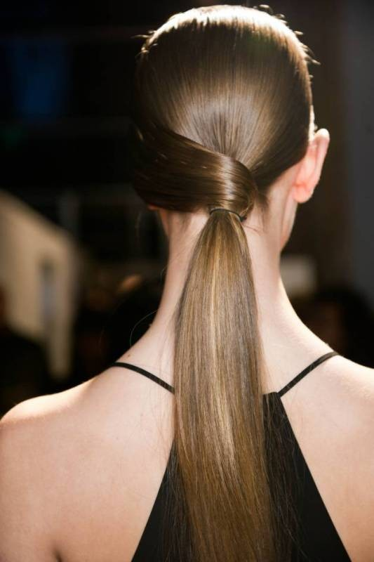 low-ponytail-2 20+ Hottest Haircuts & Hairstyles for Women in 2020