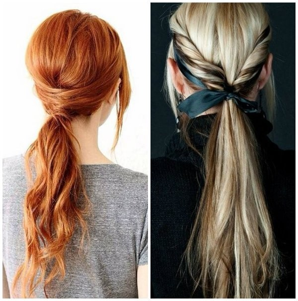 low-ponytail-9 20+ Hottest Haircuts & Hairstyles for Women in 2018