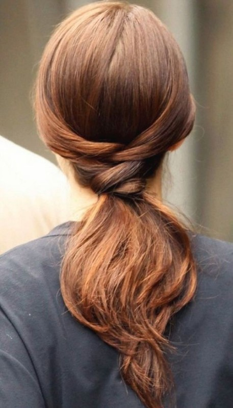 low-ponytail 20+ Hottest Haircuts & Hairstyles for Women in 2020