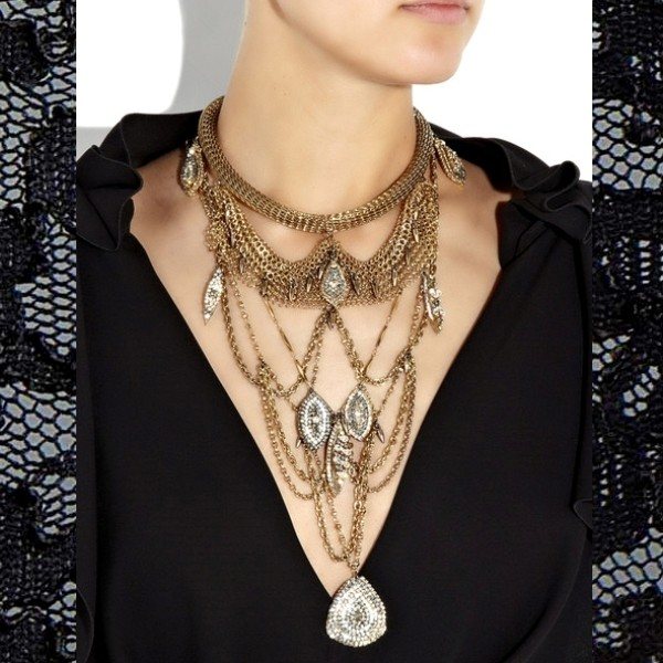 multilayered-necklaces-4 23+ Most Breathtaking Jewelry Trends in 2020