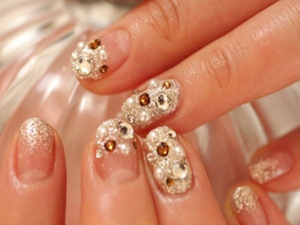 nails-ideas-wedding-nail-art-designs-1024x768-66 50+ Coolest Wedding Nail Design Ideas