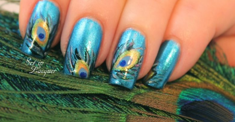 Photo of 36 Easiest Feather Nail Art Designs