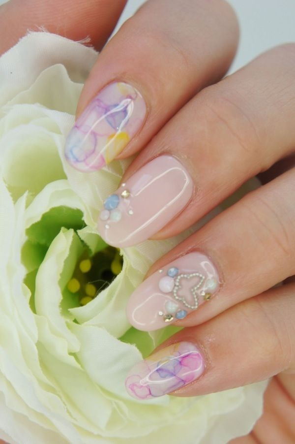 pictures-of-wedding-nail-designs 50+ Coolest Wedding Nail Design Ideas