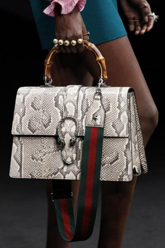 reptile-skin-handbags-4 26+ Awesome Handbag Trends for Women in 2020