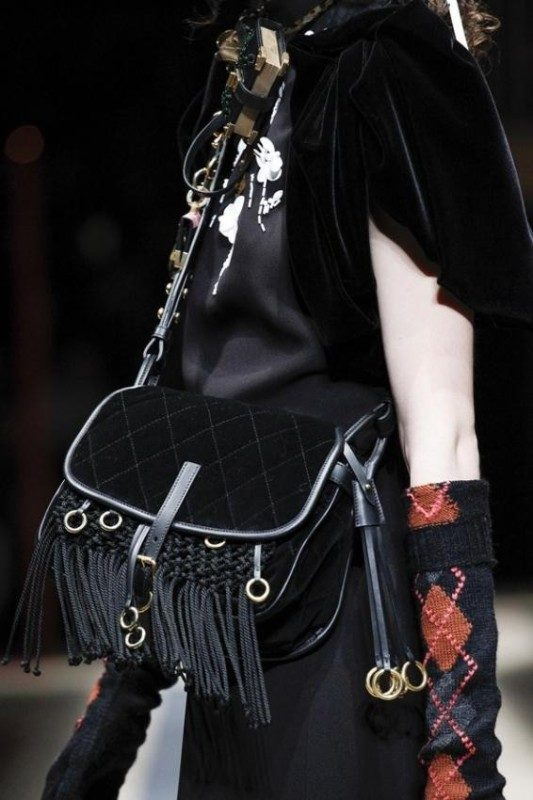 velvet-handbags-3 26+ Awesome Handbag Trends for Women in 2020