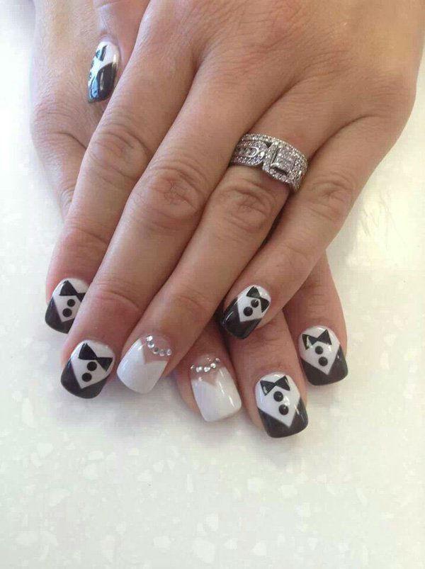 wedding-nail-art-design100 50+ Coolest Wedding Nail Design Ideas
