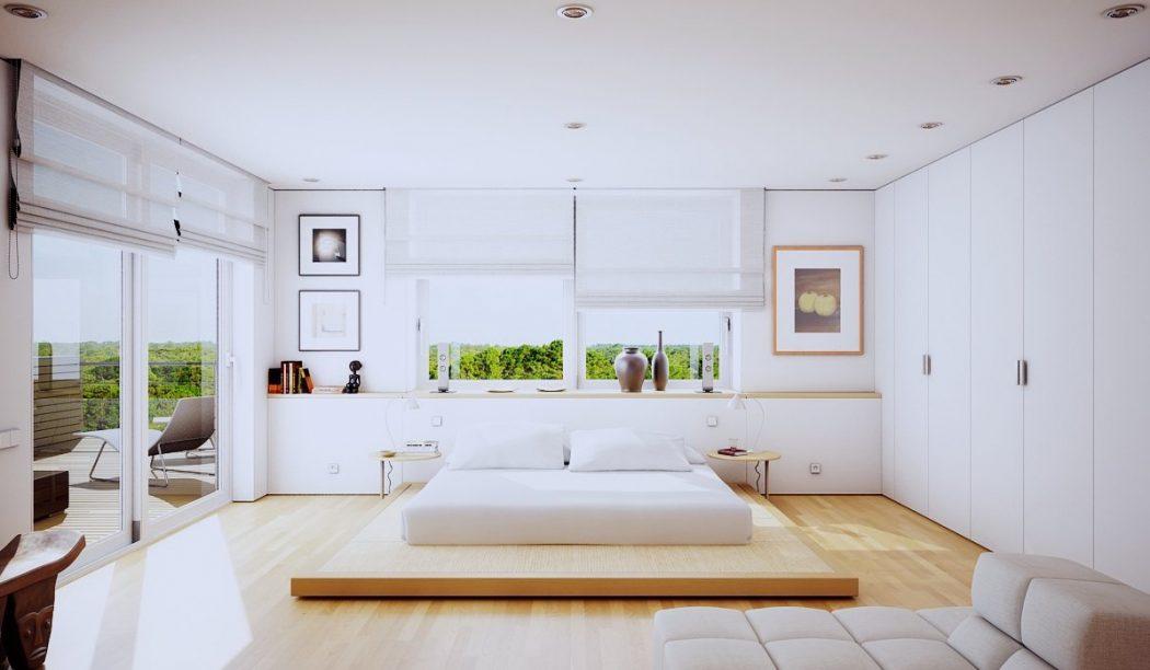 1-White-bedroom-design 5 Main Bedroom Design Ideas For 2020