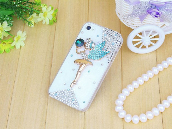 Dancing_Girl_Diamond_Mobile_Phone_Cover 80+ Diamond Mobile Covers