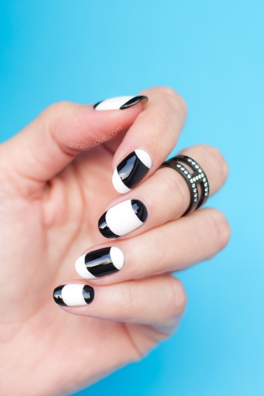 French-manicure-1 28 Dazzling Nail Polish Trends You Must Try in 2017