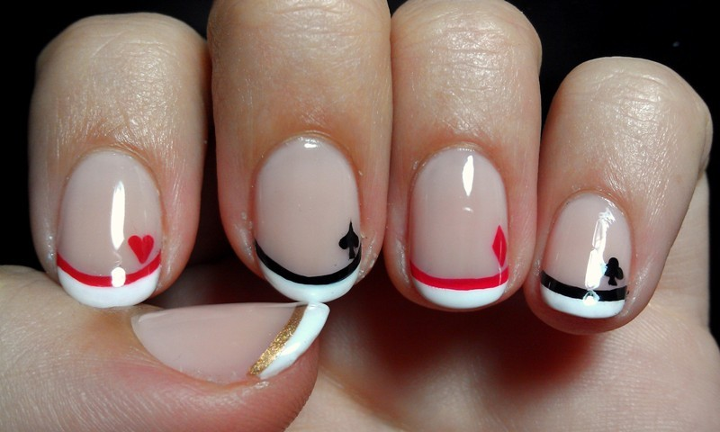 French-manicure-11 28 Dazzling Nail Polish Trends You Must Try in 2017