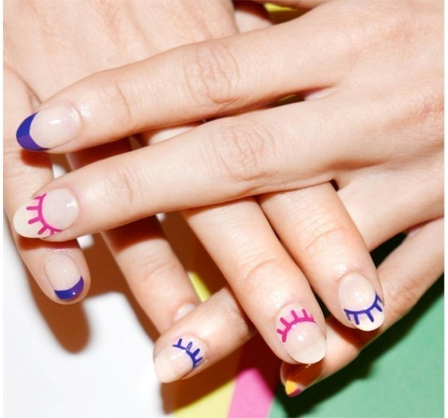 French-manicure-19 28 Dazzling Nail Polish Trends You Must Try in 2017