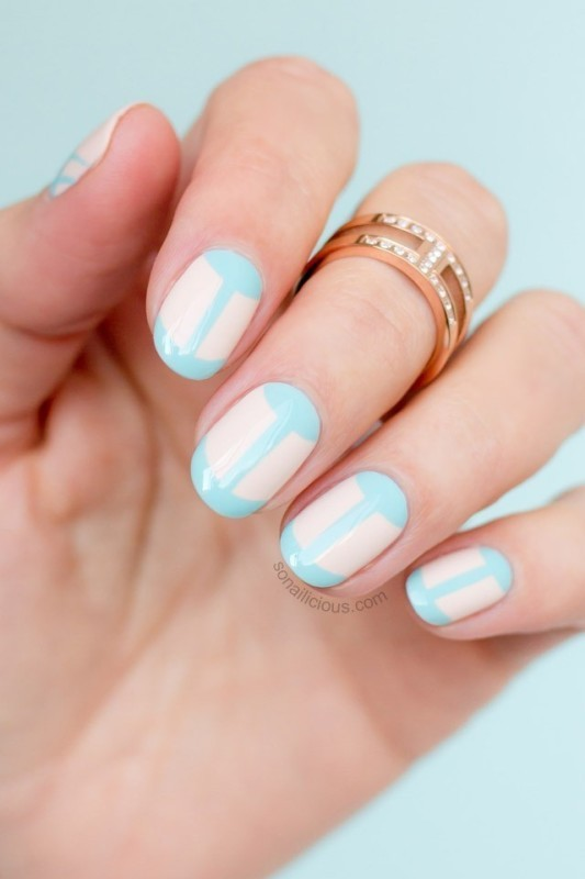 French-manicure-2 28 Dazzling Nail Polish Trends You Must Try in 2017