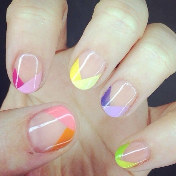 French-manicure-20 28 Dazzling Nail Polish Trends You Must Try in 2017