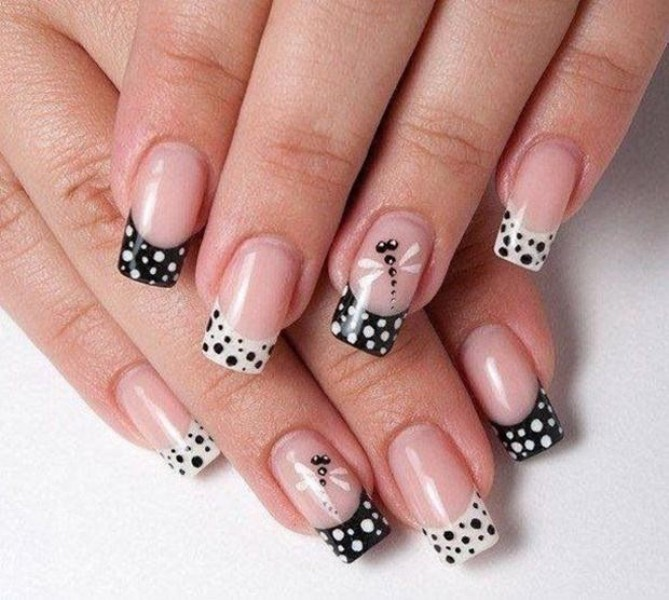 French-manicure-22 28 Dazzling Nail Polish Trends You Must Try in 2017