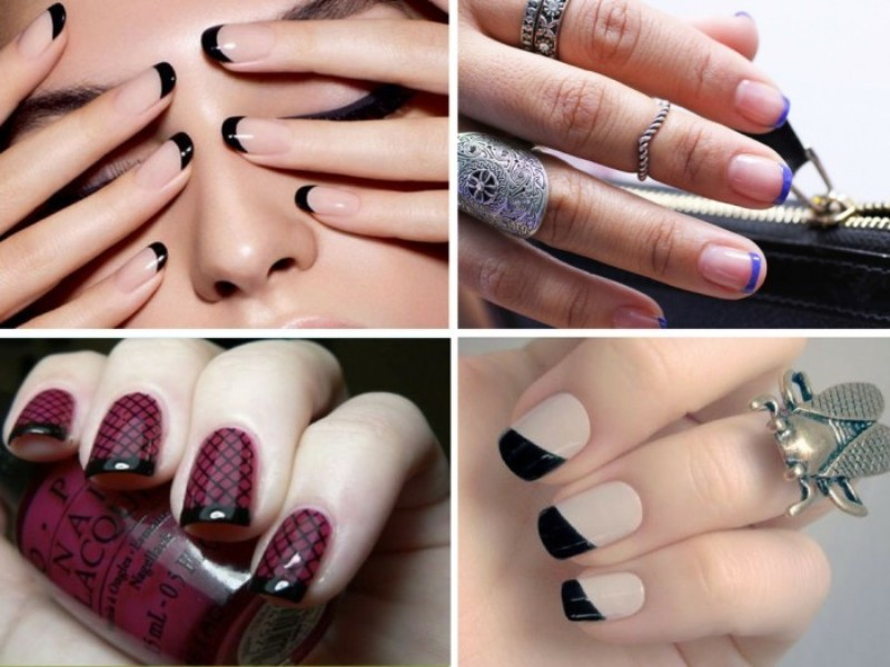 French-manicure-24 28 Dazzling Nail Polish Trends You Must Try in 2017