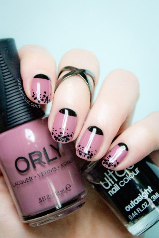 French-manicure-3 28 Dazzling Nail Polish Trends You Must Try in 2017