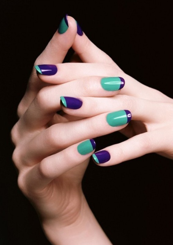 French-manicure-6 28 Dazzling Nail Polish Trends You Must Try in 2017