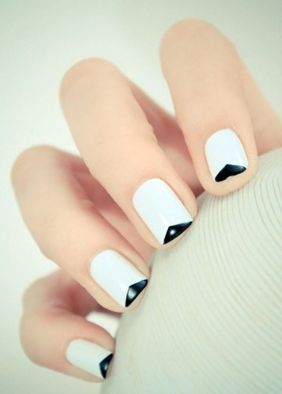 French-manicure-7 28+ Dazzling Nail Polish Trends You Must Try in 2021