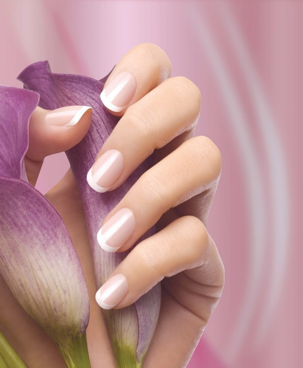 French-manicure-9 28+ Dazzling Nail Polish Trends You Must Try in 2019