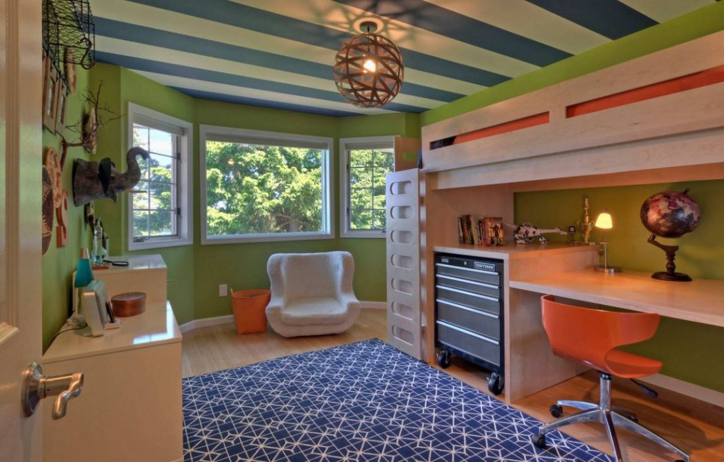 Kids-Room-Ceiling-15 +25 Marvelous Kids' Rooms Ceiling Designs Ideas