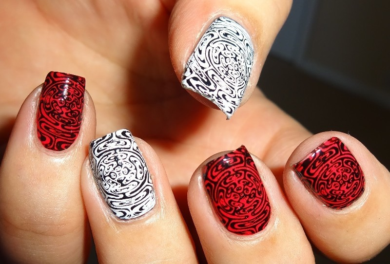 Nail-trends-2017-12 28+ Dazzling Nail Polish Trends You Must Try in 2021