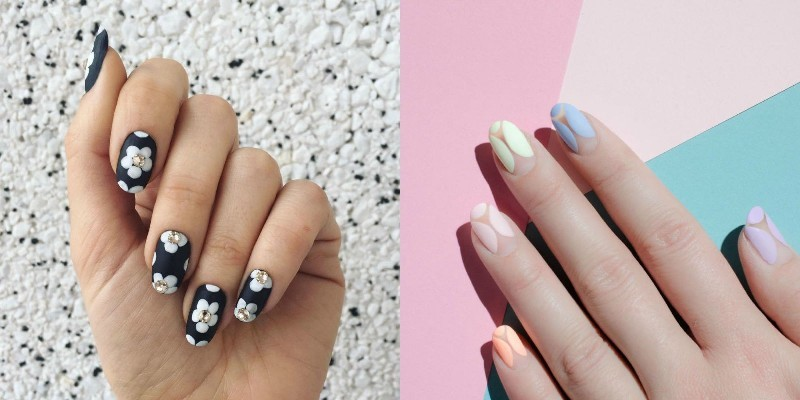 Nail-trends-2017-17 28+ Dazzling Nail Polish Trends You Must Try in 2019