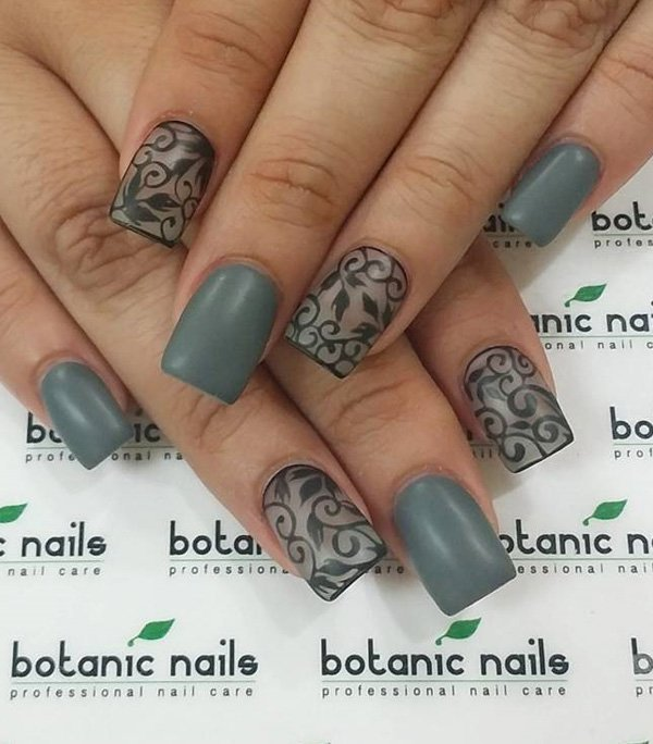 Nail-trends-2017-7 28+ Dazzling Nail Polish Trends You Must Try in 2021