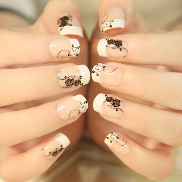 Nail-trends-2017-9 28+ Dazzling Nail Polish Trends You Must Try in 2019
