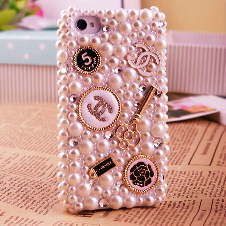 Pearl_Key_Lock_Mobile_cellphone_case 80+ Diamond Mobile Covers
