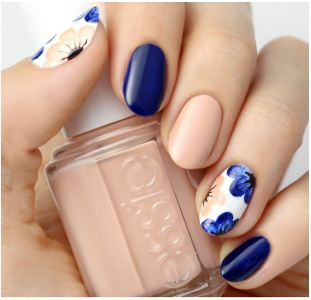 Two-colors-14 28+ Dazzling Nail Polish Trends You Must Try in 2021